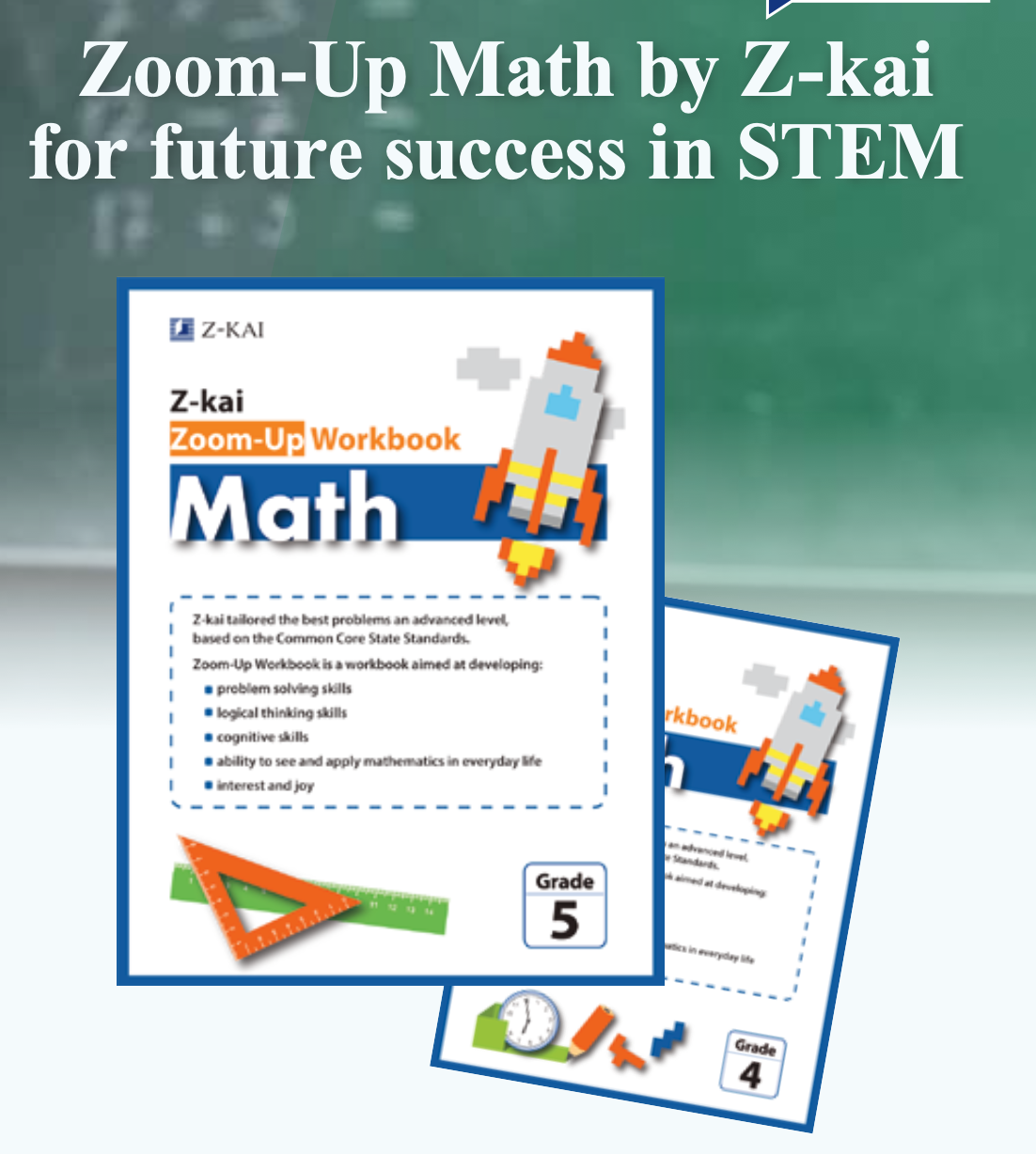 Zoom-Up Math by Z-kai future success in STEM!!